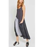 Alembika Alembika Sleeveless Dress - Stripes
