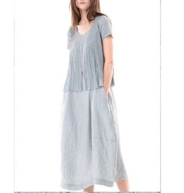 Colour 5 Power Colour 5 Power Short Sleeve Dress - Grey