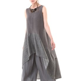 Colour 5 Power Colour 5 Power Sleeveless Sheath Dress - Grey