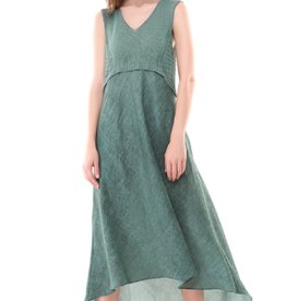 Colour 5 Power Colour 5 Power Sleeveless Dress - Green