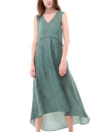 Colour 5 Power Colour 5 Power Sleeveless Dress - Green