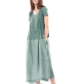 Colour 5 Power Colour 5 Power Short Sleeve Dress - Green