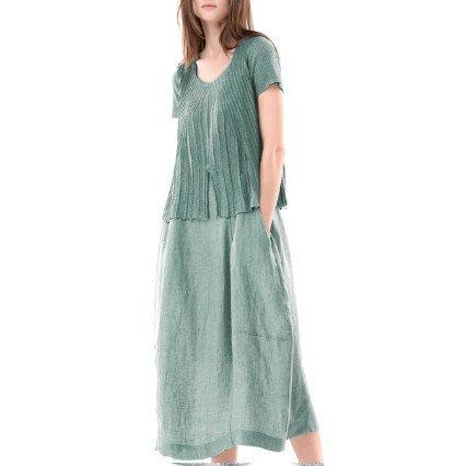 Colour 5 Power Colour 5 Power Short Sleeve Dress - Green