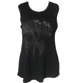 Yoshi Yoshi Yoshi Yoshi Sleeveless Print Sweater - Black