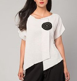 Xiao Xiao Tory Top - White