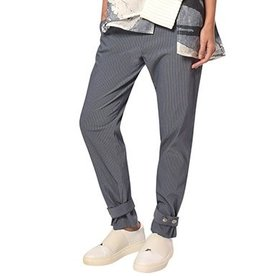 Crea Concept Crea Concept Snap Bottom Pants - Stripe