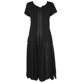 Studio Rundholz Studio Rundholz Short Sleeve Dress - Black