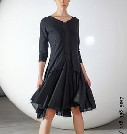 Studio Rundholz Studio Rundholz Long Sleeve Tunic Dress - Black