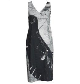 Peter O. Mahler Peter O. Mahler Print Linenstretch Dress