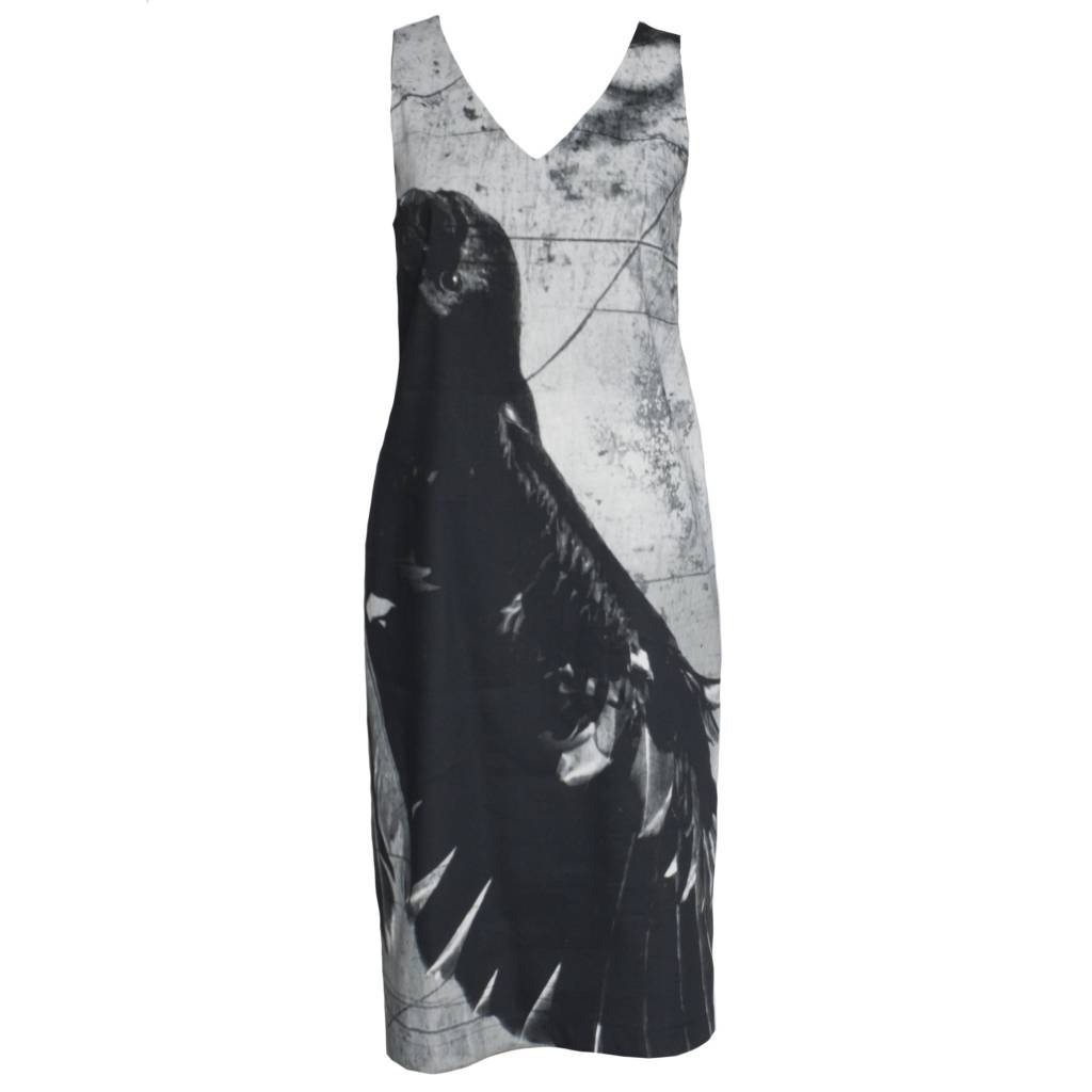 Peter O. Mahler Peter O. Mahler Print Linenstretch Dress