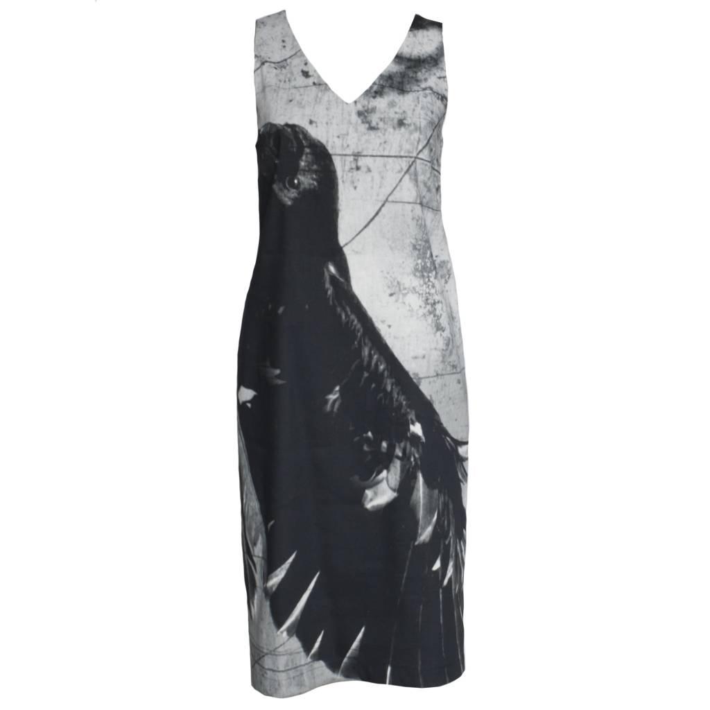 Peter O. Mahler Print Linenstretch Dress