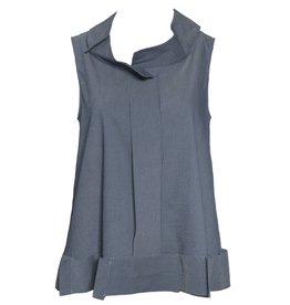 Crea Concept Crea Concept Pin Stripe Vest - Blue