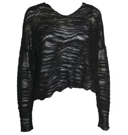 Crea Concept Crea Concept Knit Sweater - Black