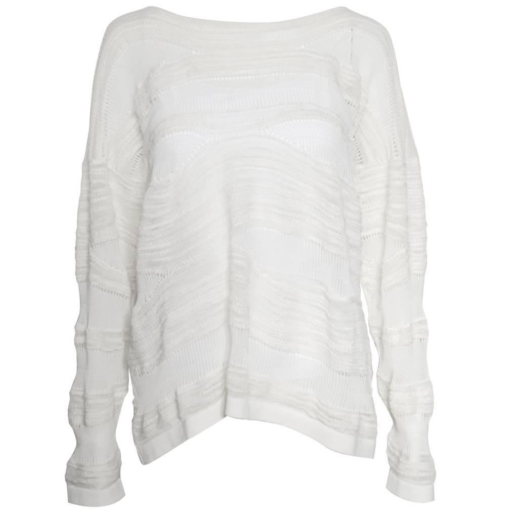 Crea Concept Crea Concept Knit Sweater - White