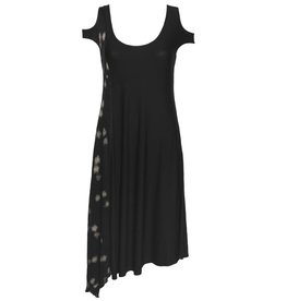 Ingrid Munt Ingrid Munt Mixed Media Dress - Black