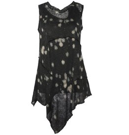 Ingrid Munt Ingrid Munt Sleeveless Linen Top - Dot