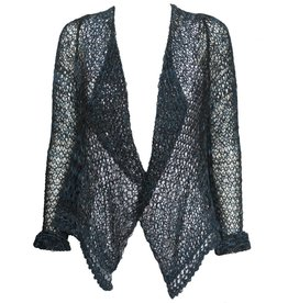 Ingrid Munt Ingrid Munt Knit Cardigan - Blue/Black