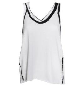 Crea Concept Crea Concept Knit Graphic Tank - Black/White