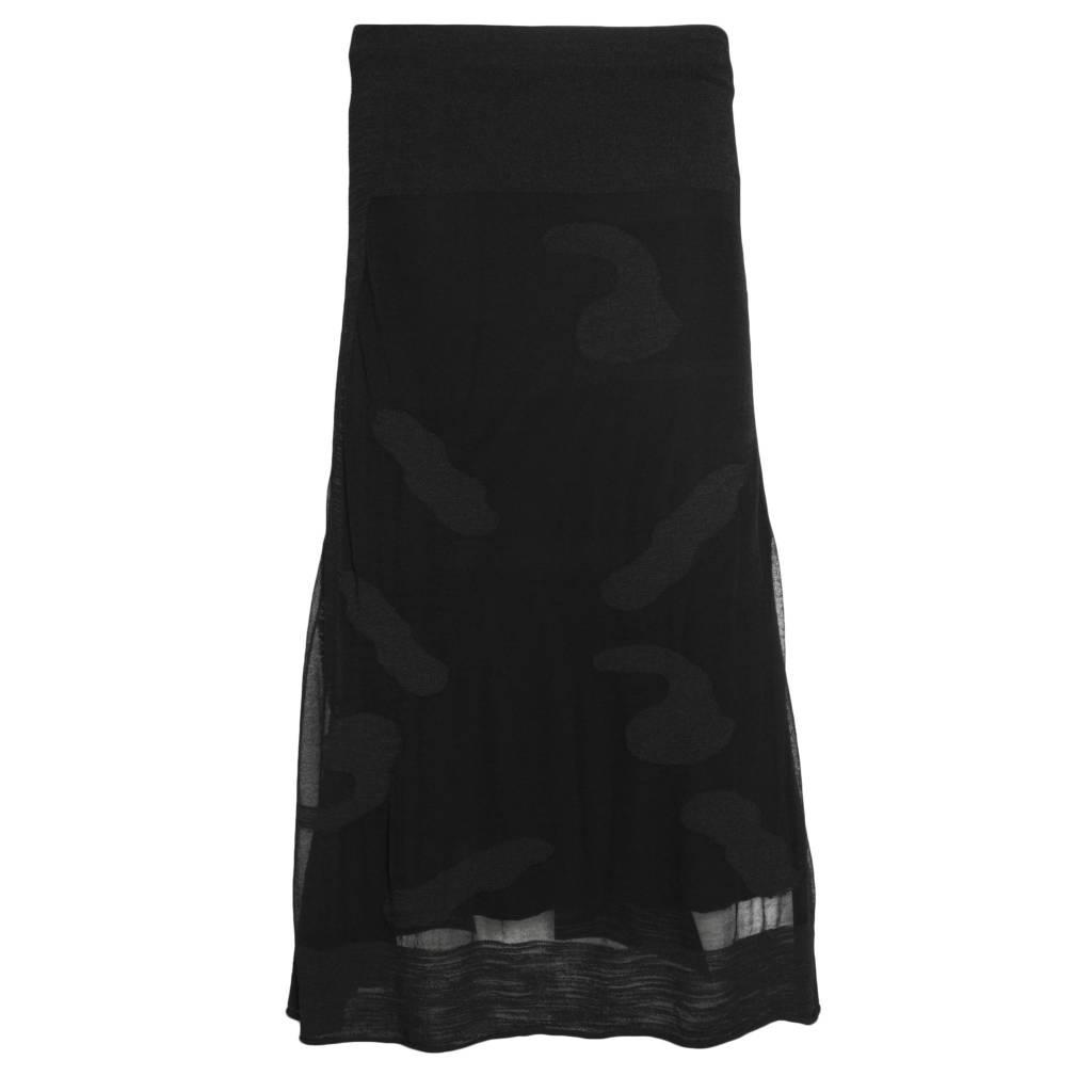Ingrid Munt Ingrid Munt Overlay Skirt - Black