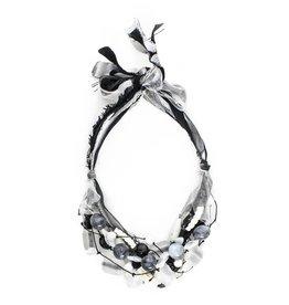 Teresa Goodall Teresa Goodall Short Ribbon Multi Strand Necklace