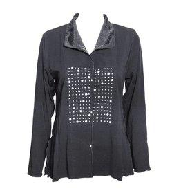 Deborah Cross Deborah Cross Dart Shirt - Black