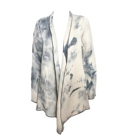 Deborah Cross Deborah Cross Long Jacket - Marble