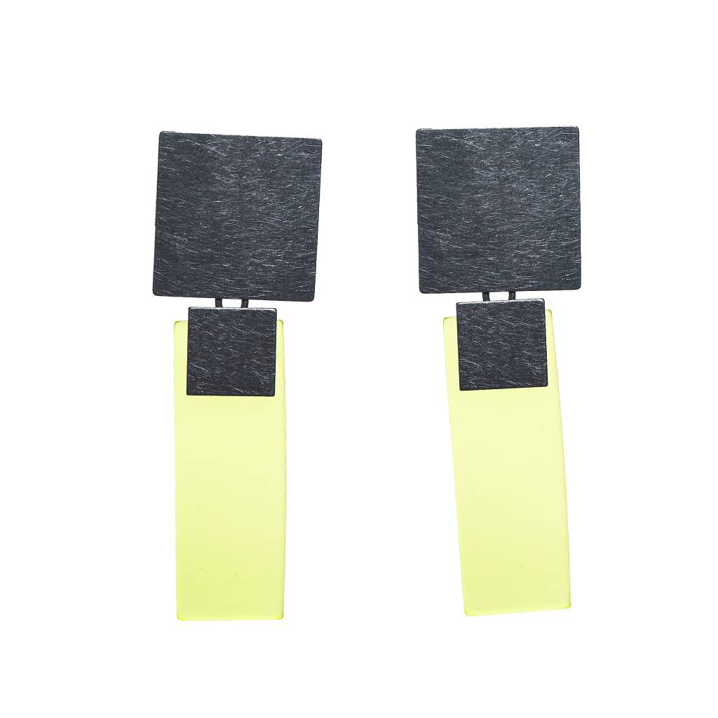 Petra Meiren Petra Meiren Rectangle Post Earrings