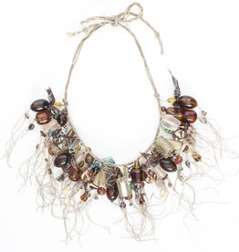 Teresa Goodall Teresa Goodall Beaded Shreddy Bib Necklace
