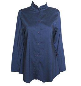 Fat Hat Village Shirt - Blueberry