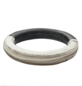 CATHs Horn Bicolor Bangle Bracelet