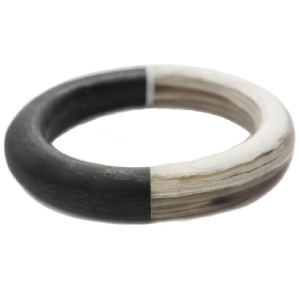 CATHs Horn Bicolor Bangle Bracelet