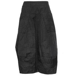 Sun Kim Sun Kim Midtown Skirt - Black Print