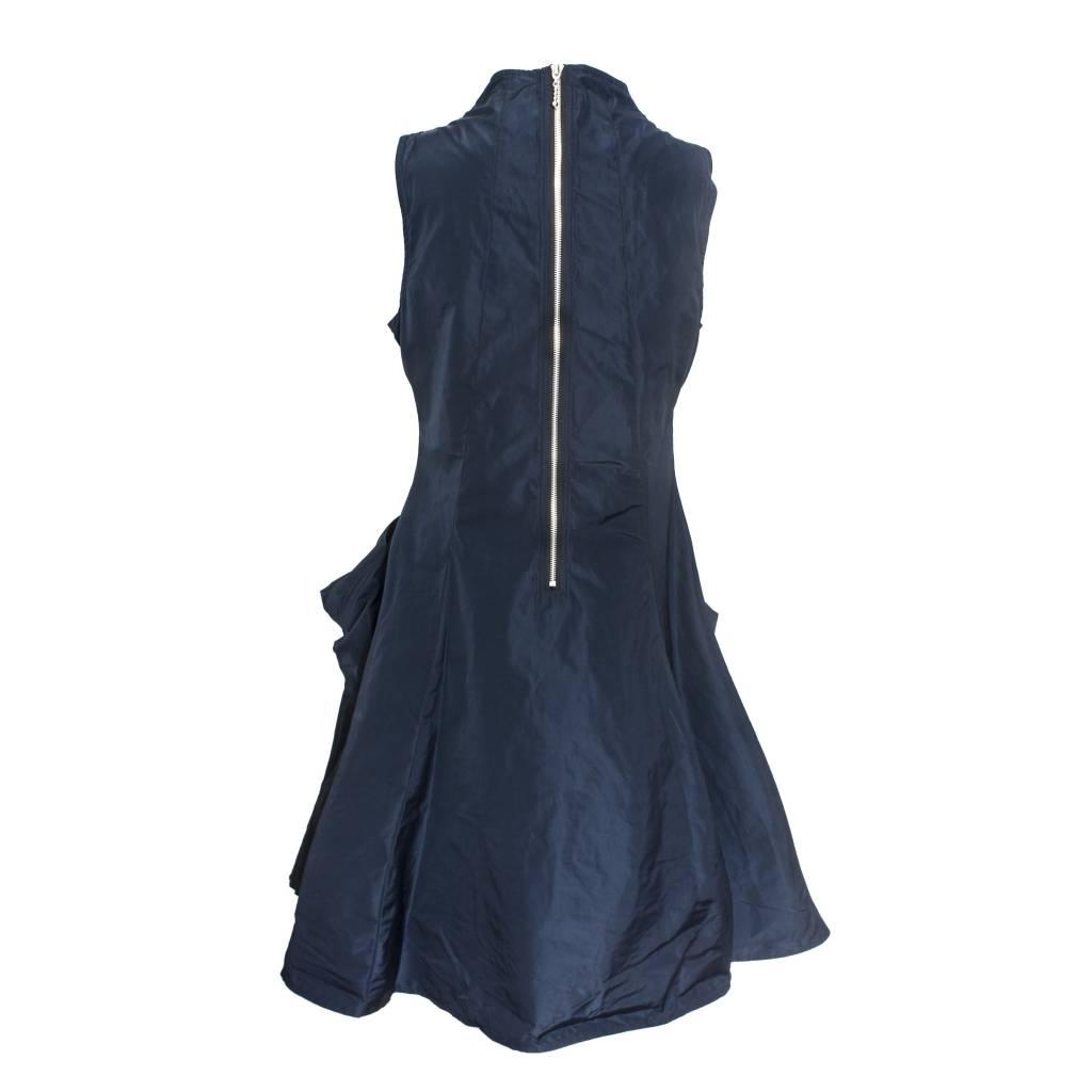 Sun Kim Sun Kim Zip Back Jumper Dress - Black