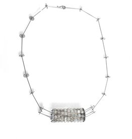 Ashka Dymel Ashka Dymel Beaded Cage Necklace