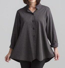 Fat Hat Village Shirt - Black