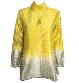 Deborah Cross Deborah Cross Mandarin Collar - Bright Gold
