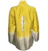 Deborah Cross Deborah Cross Mandarin Collar - Bright Gold