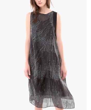 Colour 5 Power Colour 5 Power Sleeveless Dress - Black
