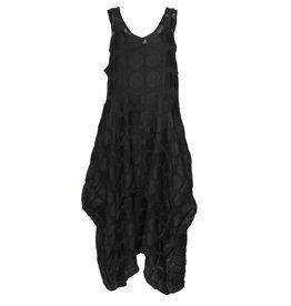 Dress To Kill Dress To Kill V Neck Dress - Black Dotted Net