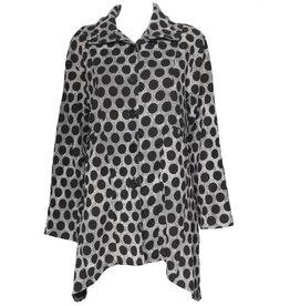 Dress To Kill Dress To Kill Mock Welt Jacket - Dots