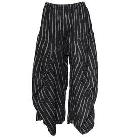 Dress To Kill Dress To Kill Harem Pants - Black Stitch