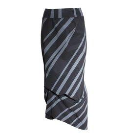 Porto Porto Napolean Skirt - Chrome Stripe