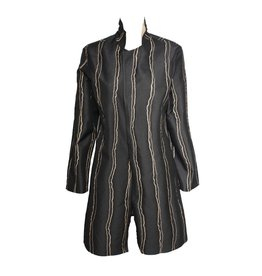 Xiaoyan Xiaoyan Reversible Black/Copper Coat