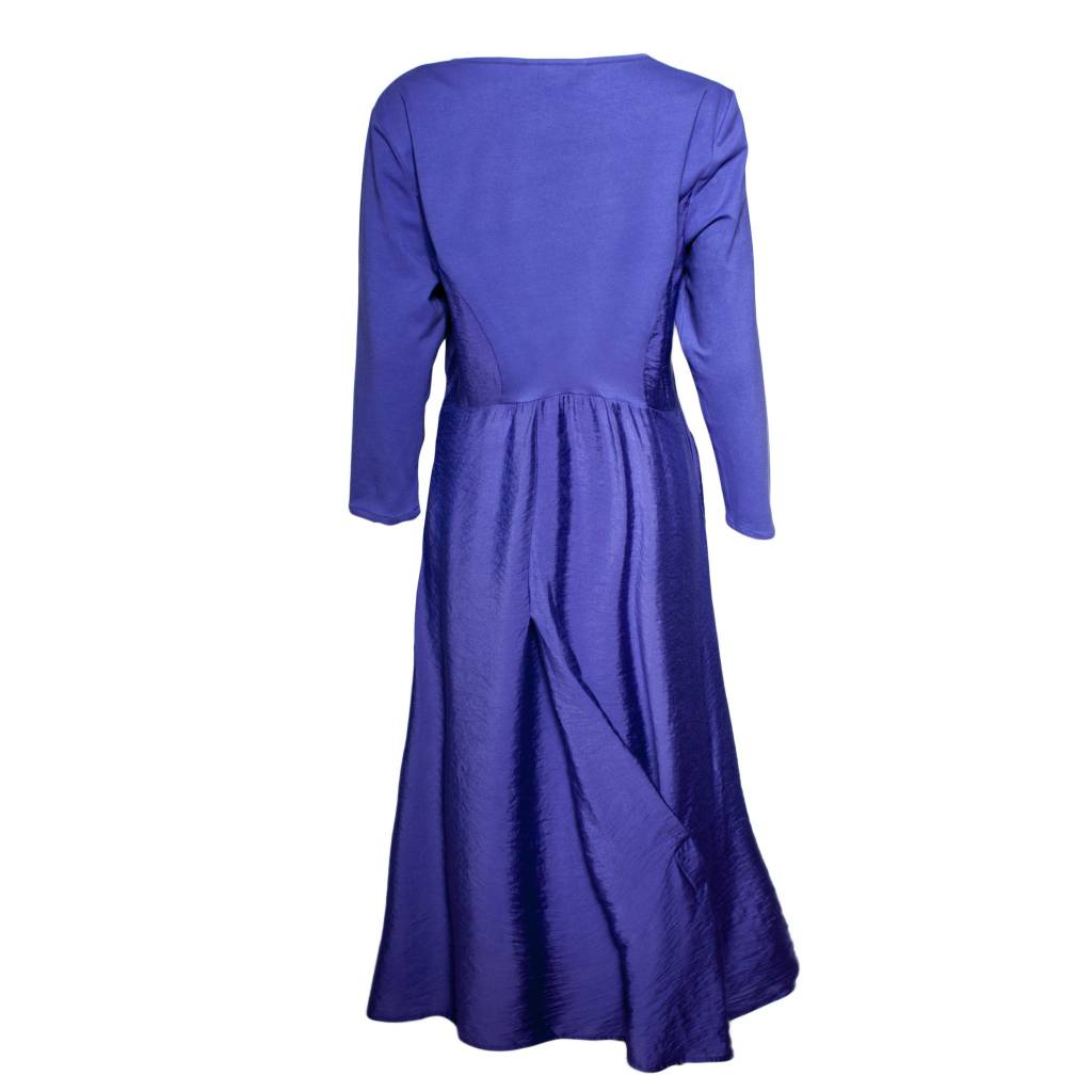 Redwood Court Redwood Court Royal Purple Bamboo Silk Dress