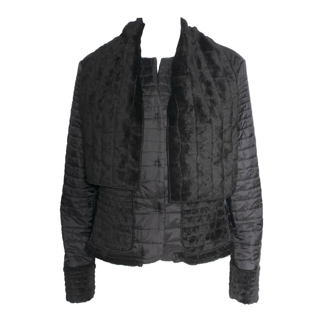 Xenia Xenia Black Alpe Woven Jacket