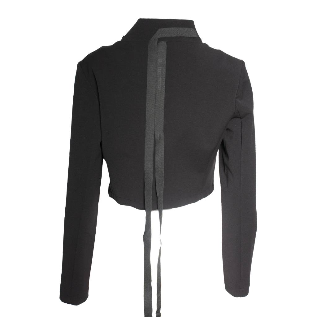Xenia Xenia Black Dela Woven Jacket