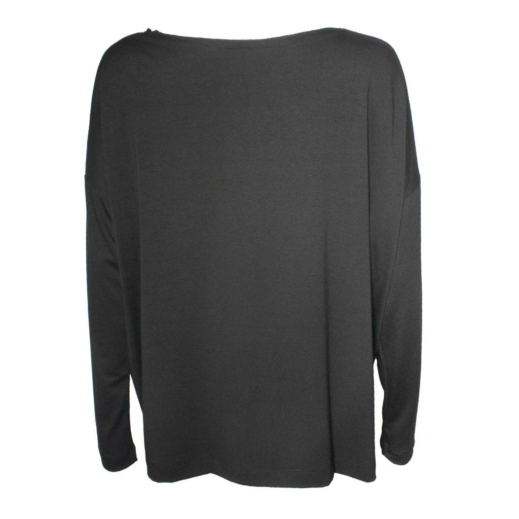 Xenia Xenia Black Olik Knitted Shirt