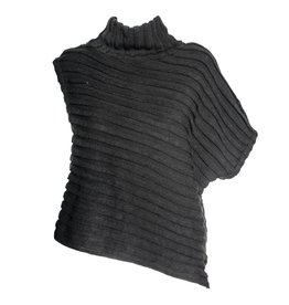 Xenia Xenia Black Noib Knitted Top