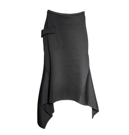 Xenia Xenia Bera Black Knitted Skirt