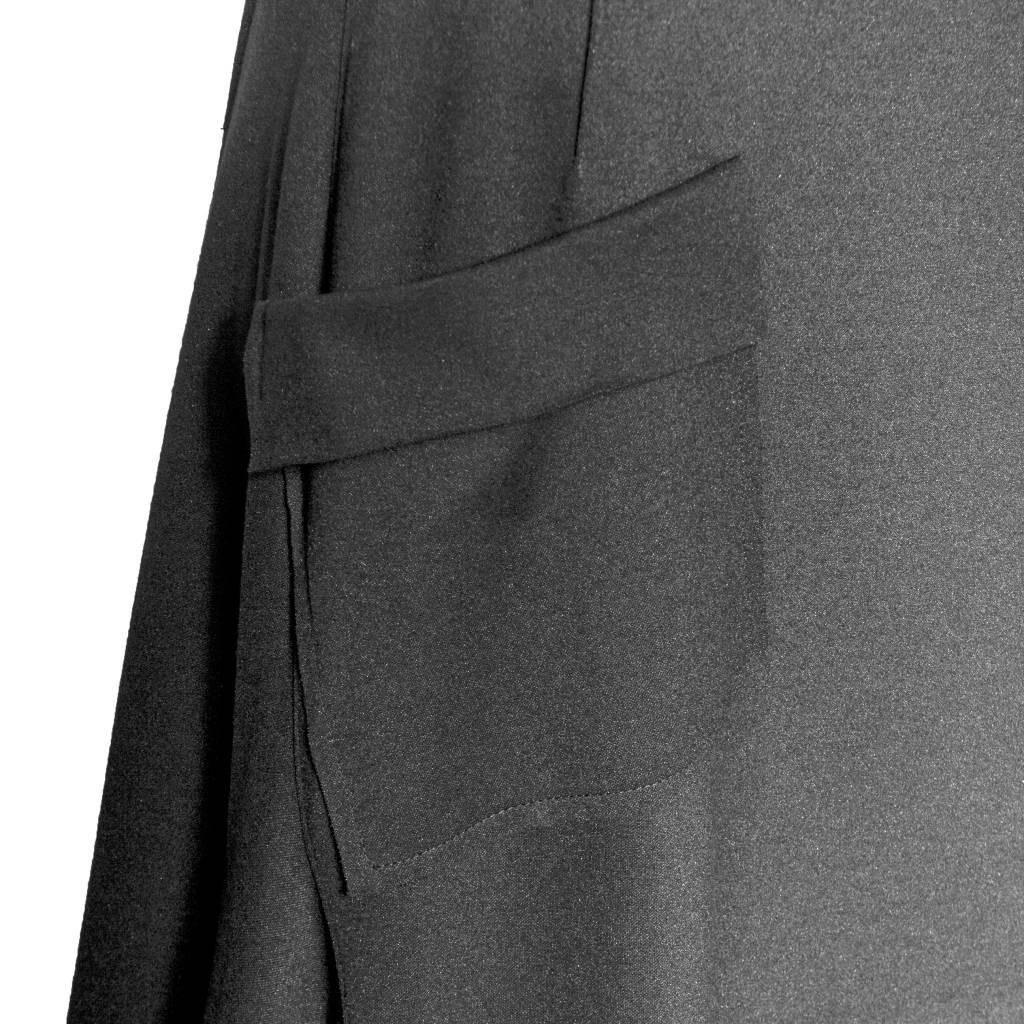 Xenia Xenia Bera Black Knitted Skirt